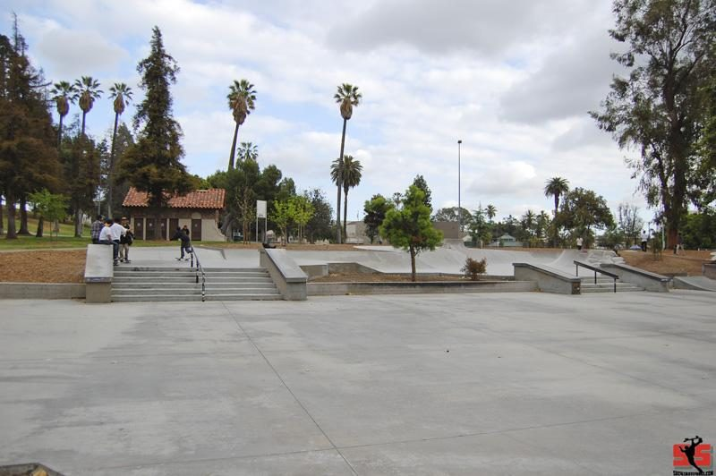 Los Angeles Lincoln Park Skate plaza