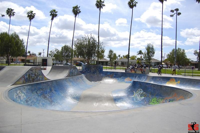 Long Beach Houghton Skatepark