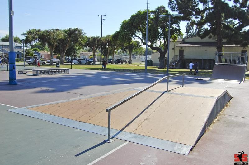 Long Beach Silverado Skatepark